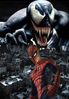 Spider-Man: Venom's Grip by stick-man-11