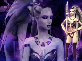 Queen Sindel by deexie