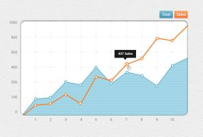Graph Design Template by freebiesgallery