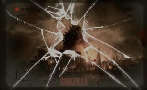 Godzilla 2014 Poster II by HisWeskerness