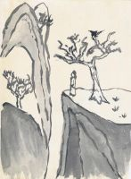 Chinese Brush Painting, Try 2 by topace12