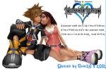 Kingdom Hearts Wallpaper 07 by sora-gian20