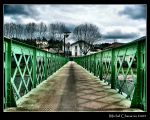 Bridge over water trouble... by Michel-Lag-Chavarria