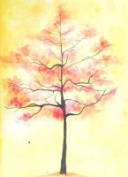 Watercolor Tree GIf by SystematicZombie