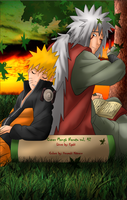 Naruto and Jiraya- Cover 42 by uzumakitsune