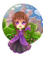 -- Chibi Commission for Miss-MapIe -- by Kurama-chan