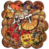 CR Event Halloween 2012~Happy Colourful Halloween by MarumeChiisa