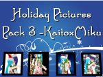 MMD - Holiday Pictures - PACK 3 + DL by RoseBeri