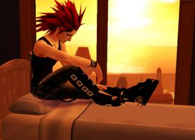 Axel - Only my heart talking by REQ-Flames