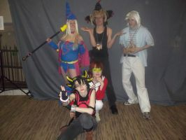 AD 2013 - Yugioh cosplay contest group by Wolf-girl-Alchemist9