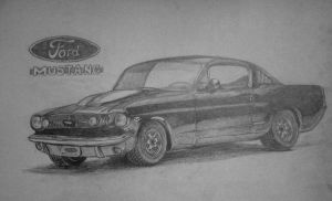 Ford mustang by mieszczuch88