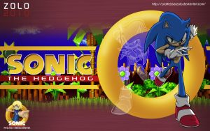 SONIC:2010 Wallpaper v2 by ProfessorZolo