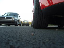 mk5 polo and mk2 golf by shaggly