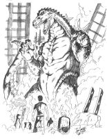 Terror of Godzilla by Jason-FH-Art