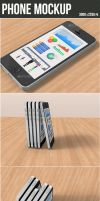 Phone Mockup by graphickey