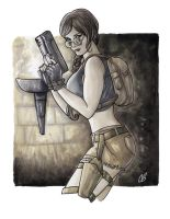 The Lachance of Lara Croft by BigChrisGallery