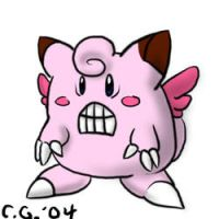 child of Clefairy and Glalie