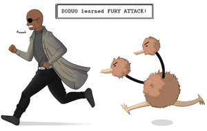 (Nick) Fury Attack by ice-cream-skies