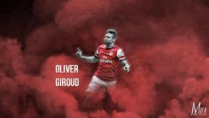 Oliver Giroud by Marcus-GFX
