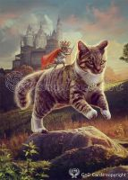 Cat and mouse by Vasylina