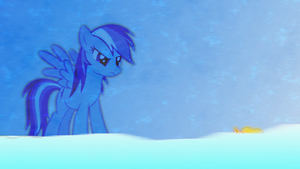 Rainbow Dash Determination Wallpaper by Game-BeatX14