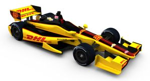 28 DHL IndyCar by tucker65