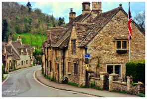 Castle Combe Village #1 by likalileal