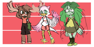 Mixed adopties open by 1nk-Adopts