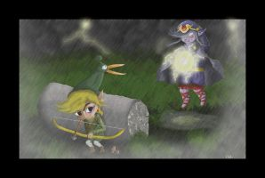 Link and Vaati by Reillyington86