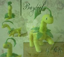 Pokemon: #153 Bayleef - Fan Sculpture by Sasha-Raskolnikova
