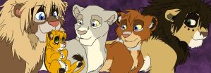 Lion Generations by Firewolf-Anime