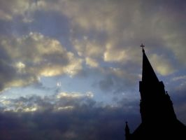 clouds over cross 2 by kingbob24
