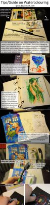 Watercolour Guide/Tips by Qinni