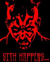 Sith happens Darth Maul by italion905