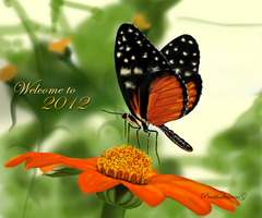 Welcome to 2012 -Happy New year by thelfs