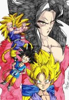 DBGT - Goku Forms by ssjgogeto