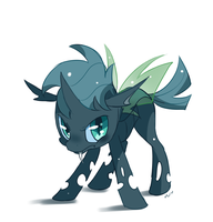 GIiddy Sketch Changeling by Ipun