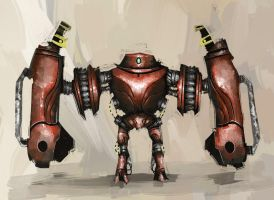Strongbot 1 by Zacrificial