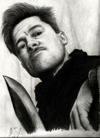 Lt. Aldo Raine by raul-duke-05