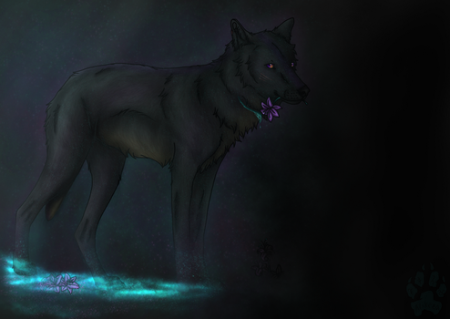 Into the Nothing + Speedpaint by Alikrea