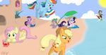 Beach Day by vcm1824
