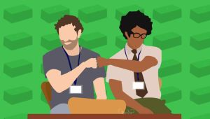 IT Crowd Job Satisfaction by surlana