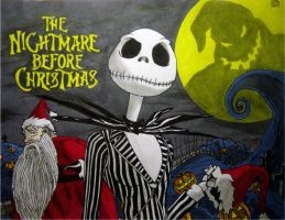 The Nightmare Before Christmas by VitoAvaritia