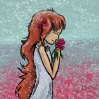 Roses in December by Griffin-Fire