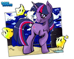 Twilight and the Lumas by PoneBooth