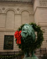 Lion at the Museum by nwalter