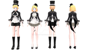 [40 Watchers Gift] TDA Victorian Lolies. YAY by ARTonette