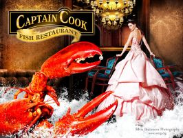 Captain Cook adverts by SOOO