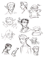Eric sketches by girlinblack