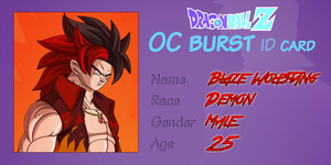 Blaze OC Burst - ID Card by Sasuderuto